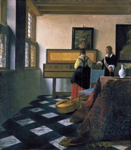 The Music Lesson – Johannes Vermeer