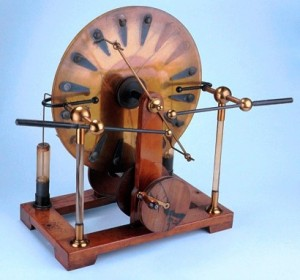 Picture of a Wimshurst Machine from the Museum's collections