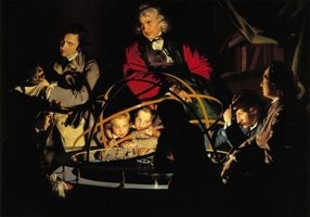 Painting of 'The Orrery' by Joseph Wright of Derby