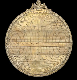 astrolabe, inventory number 32378 from Paris, 1551