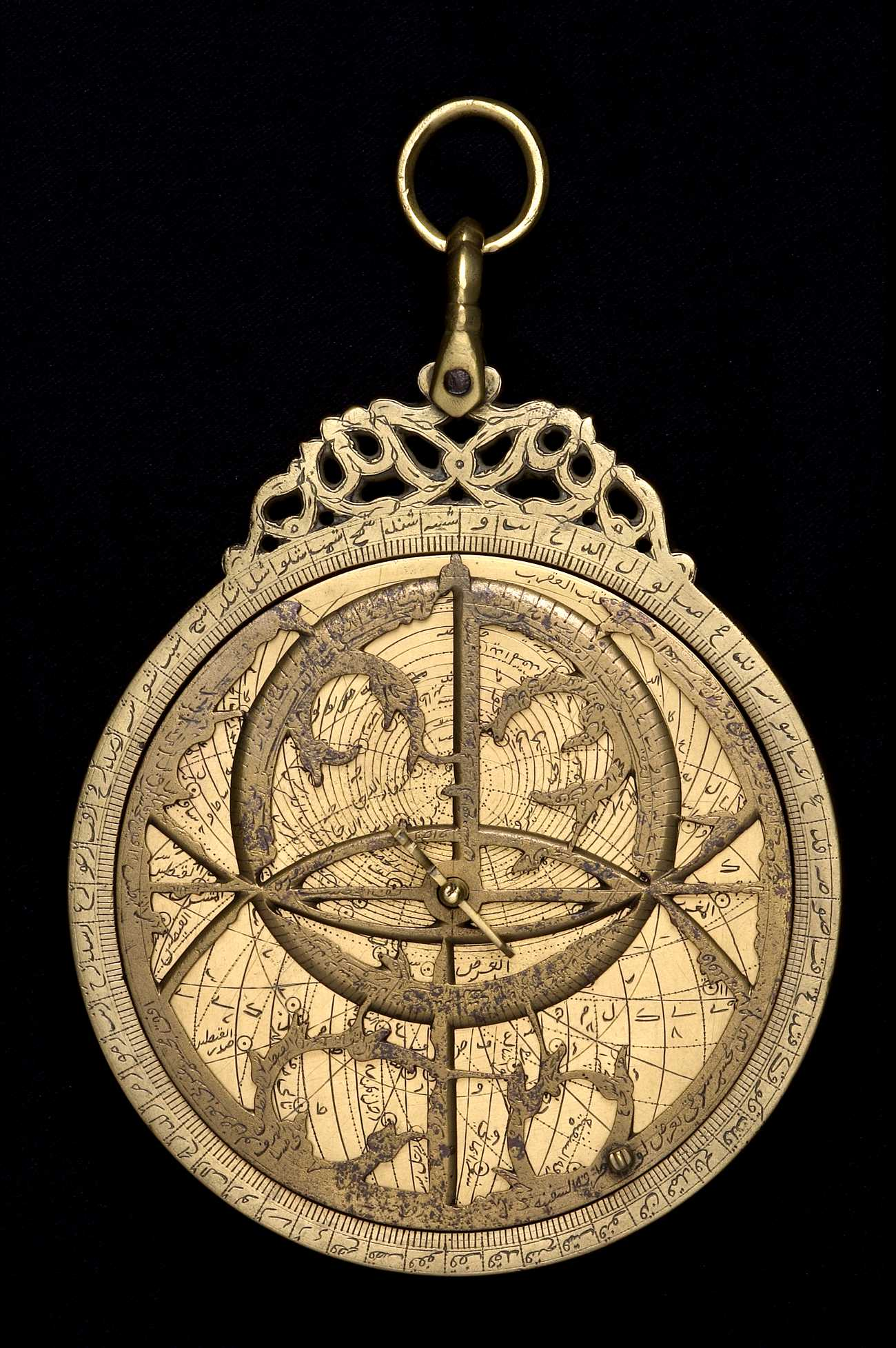 Astrolabe Image Report Inventory Number 52473: Astrolabe Report (inventory Number 33796