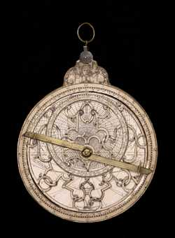 astrolabe, inventory number 34268 from Paris, 1584