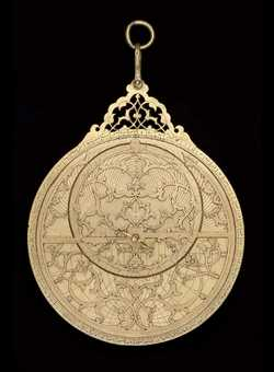 astrolabe, inventory number 34611 from India (?), ca. 1600