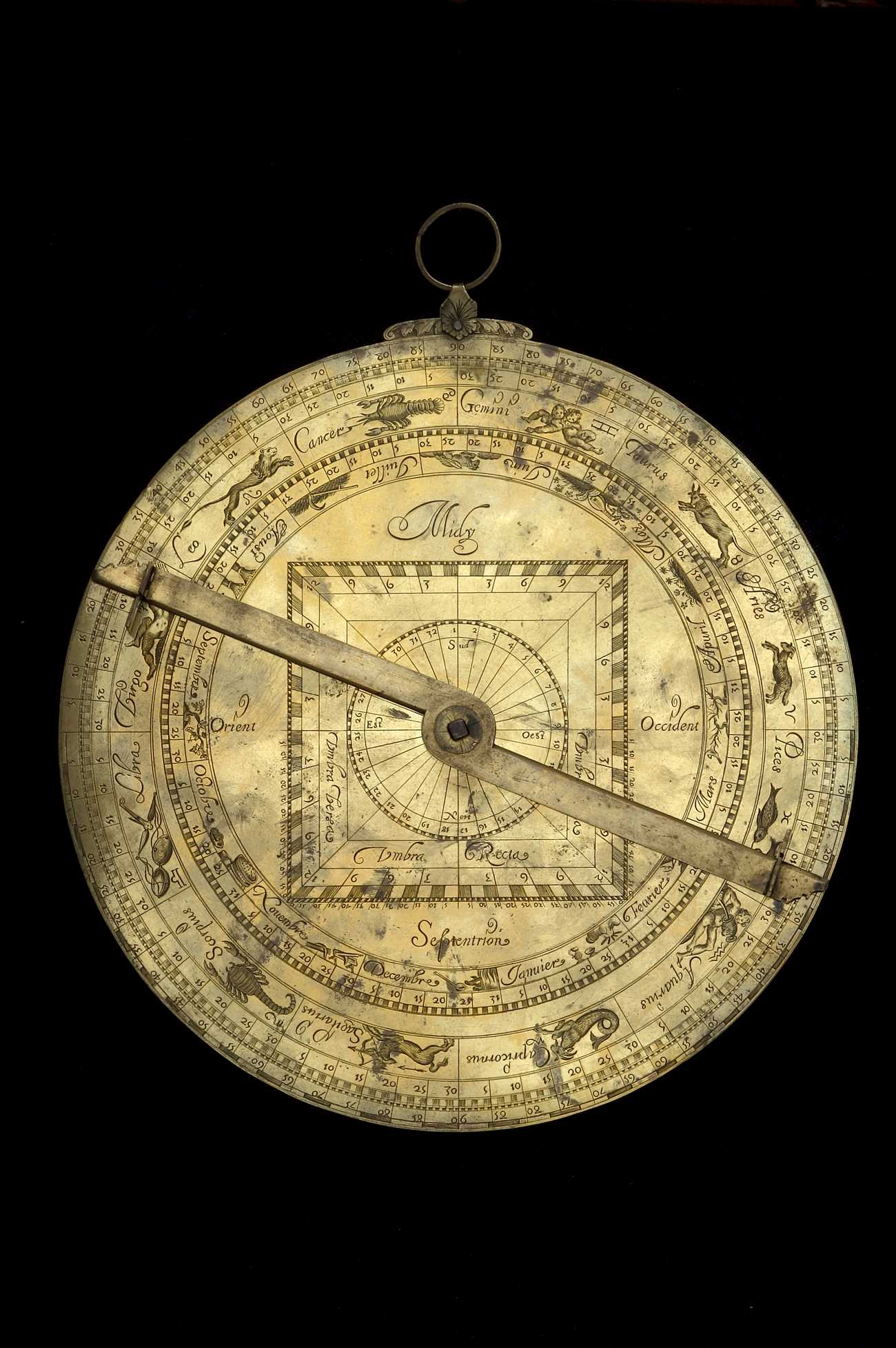 Astrolabe Image Report Inventory Number 52473: Astrolabe Report (inventory Number 35082
