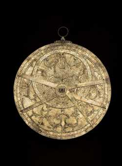 astrolabe, inventory number 35082 from Paris (?), ca. 1600