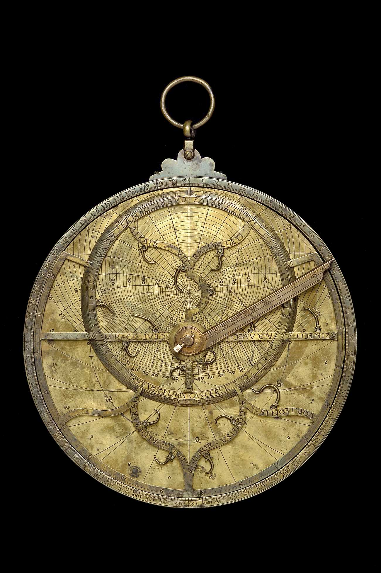 Astrolabe Image Report Inventory Number 52473: Astrolabe Report (inventory Number 35146