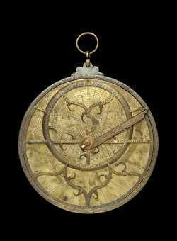 astrolabe, inventory number 35146 from Italy (?), ca. 1500