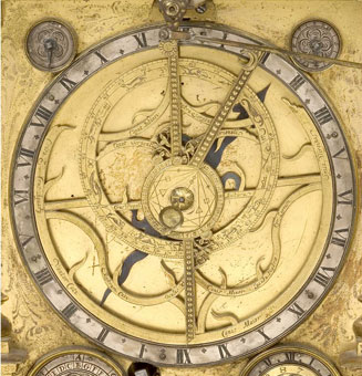 astrolabe, inventory number 35592 from Nuremberg, ca. 1686