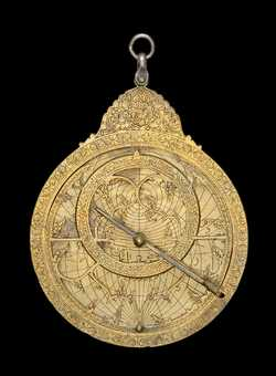 astrolabe, inventory number 36247 from Persia, early 18th century