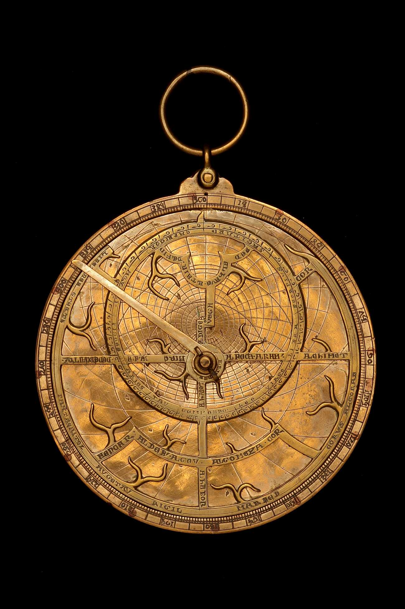 Astrolabe Image Report Inventory Number 52473: Astrolabe Report (inventory Number 36338