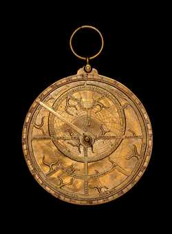astrolabe, inventory number 36338 from Europe, late 14th century