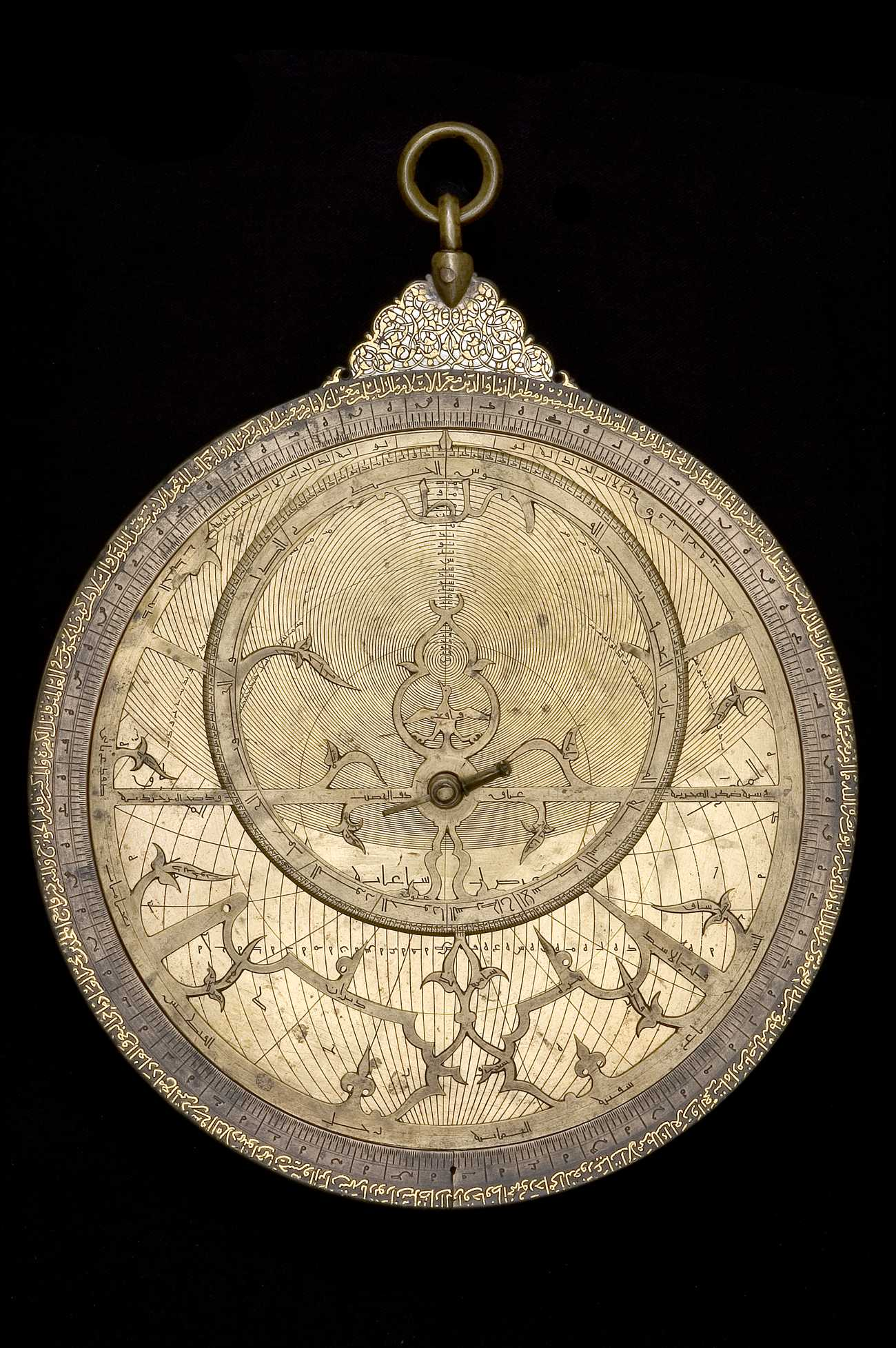 Astrolabe Image Report Inventory Number 52473: Astrolabe Report (inventory Number 37148