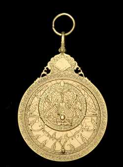 astrolabe, inventory number 37321 from Iṣfahān, ca.1715