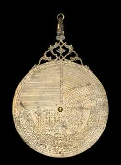 Full image of Astrolabe, by Muhammad Muqim, Lahore, c.1650 (Inv. 37530)