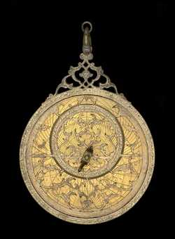 astrolabe, inventory number 37530 from Lahore, ca. 1650