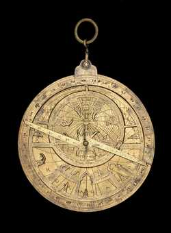 Astrolabe, Hispano-Moorish, c.1260  (Inv. 37878)