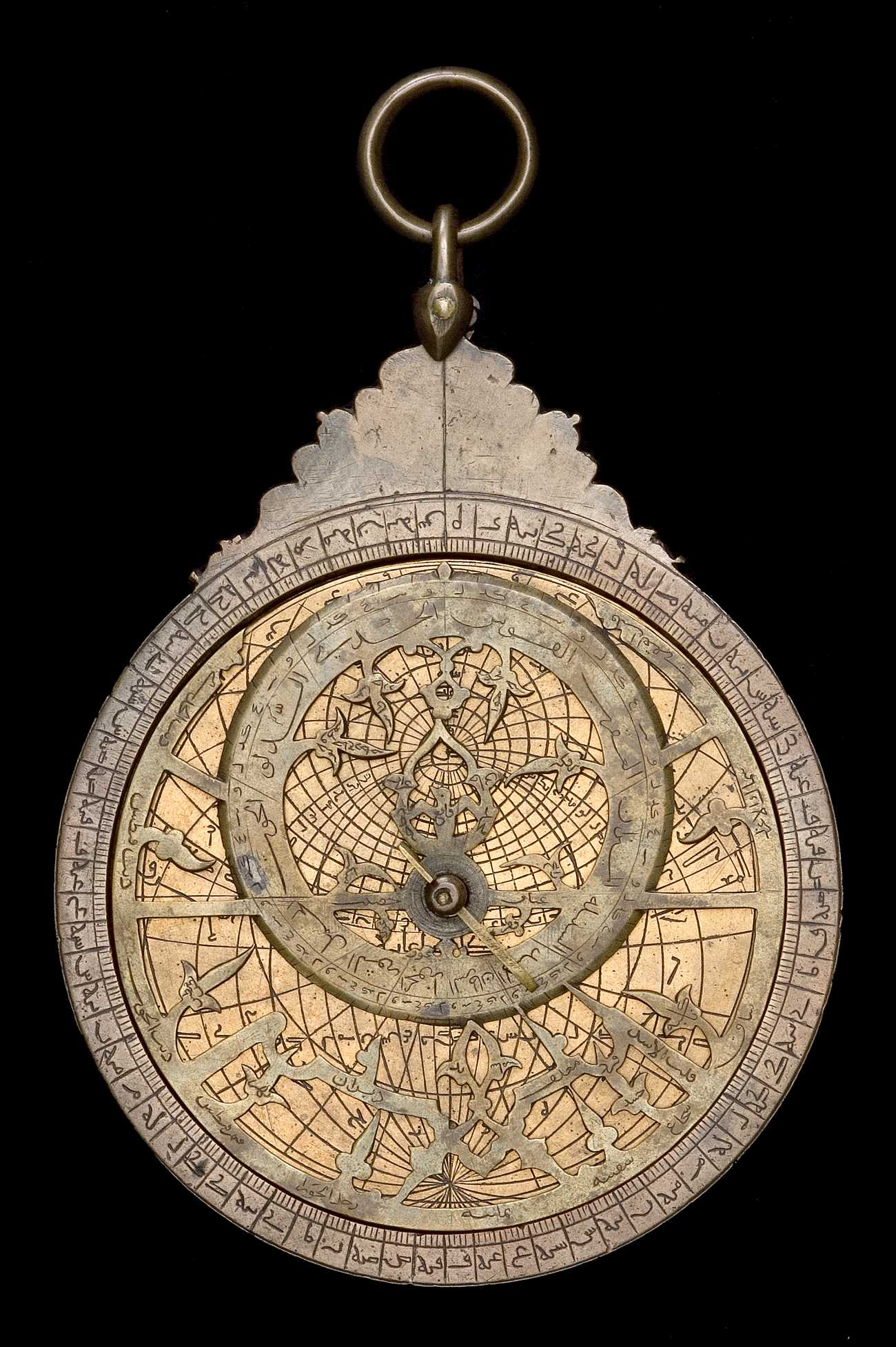 Astrolabe Image Report Inventory Number 52473: Astrolabe Report (inventory Number 39063