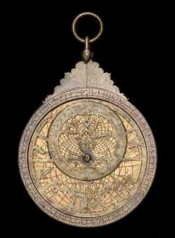 astrolabe, inventory number 39063 from Persia, 1481/2