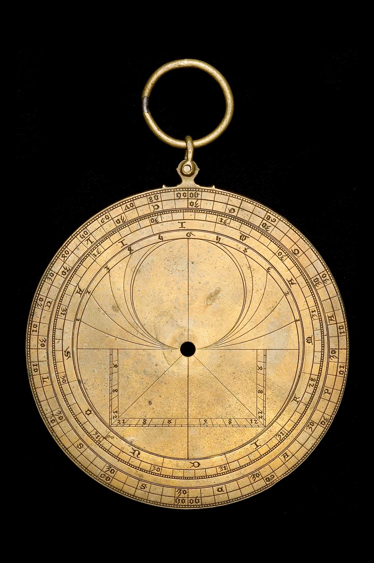 Astrolabe Image Report Inventory Number 52473: Astrolabe Report (inventory Number 39540