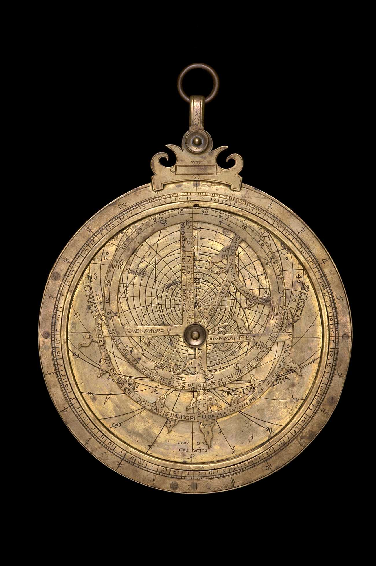 Astrolabe Image Report Inventory Number 52473: Astrolabe Image Report (inventory Number 39887