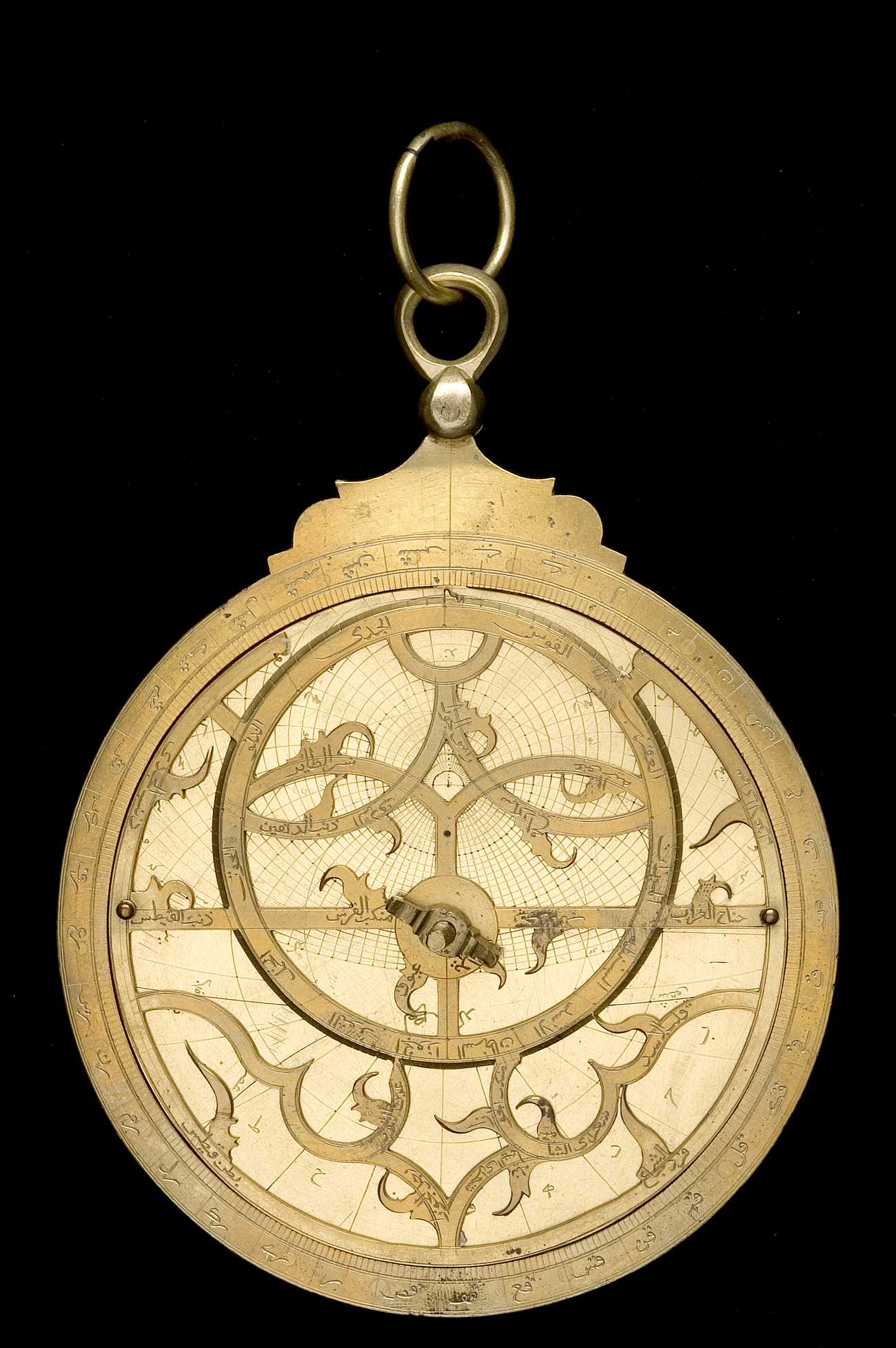 Astrolabe Image Report Inventory Number 52473: Astrolabe Report (inventory Number 39955