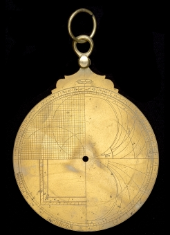 astrolabe, inventory number 39955 from Turkey, 1713/4