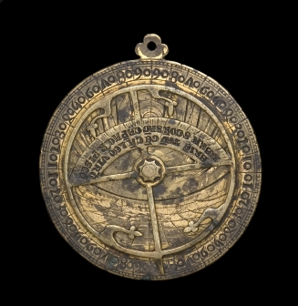 astrolabe, inventory number 40829 from Sicily, ca. 1300 (?)