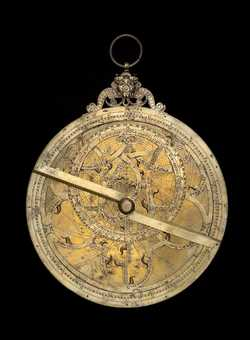 astrolabe, inventory number 41409 from France, ca. 1560