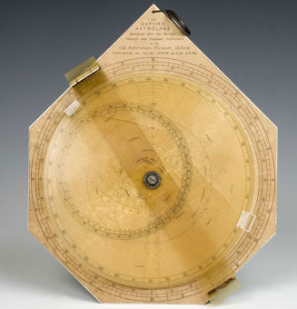astrolabe, inventory number 41427 from Oxford, 1925