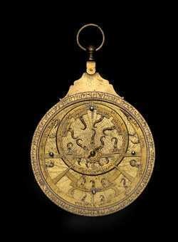 astrolabe, inventory number 41460 from North Africa, ca. 1800