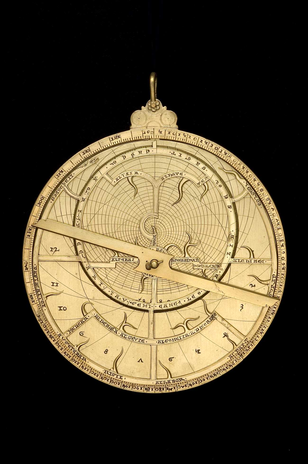 Astrolabe Image Report Inventory Number 52473: Astrolabe Image Report (inventory Number 41468