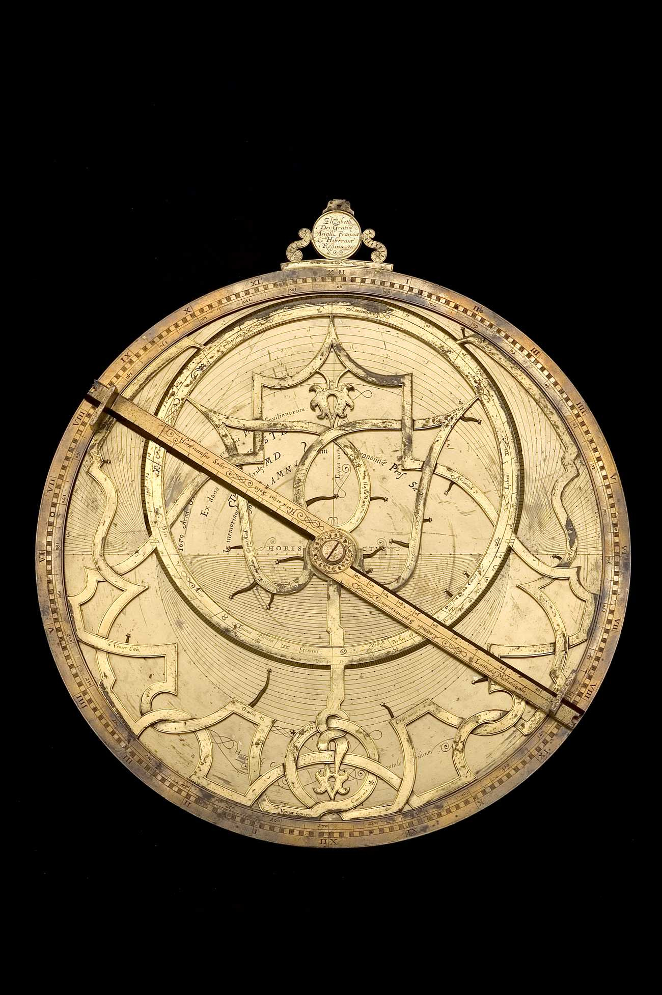 Astrolabe Image Report Inventory Number 52473: Astrolabe Report (inventory Number 42223