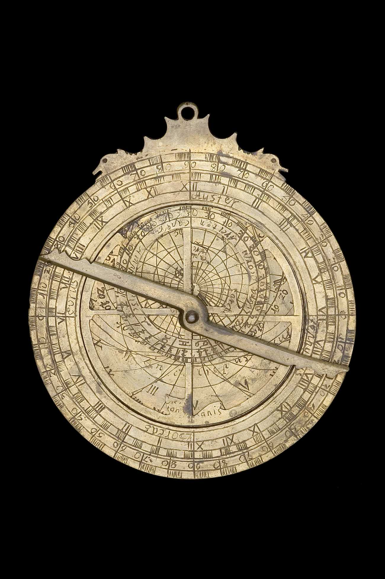 Astrolabe Image Report Inventory Number 52473: Astrolabe Report (inventory Number 42437
