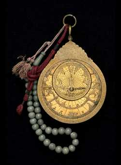 astrolabe, inventory number 42649 from Iṣfahān, ca. 1700