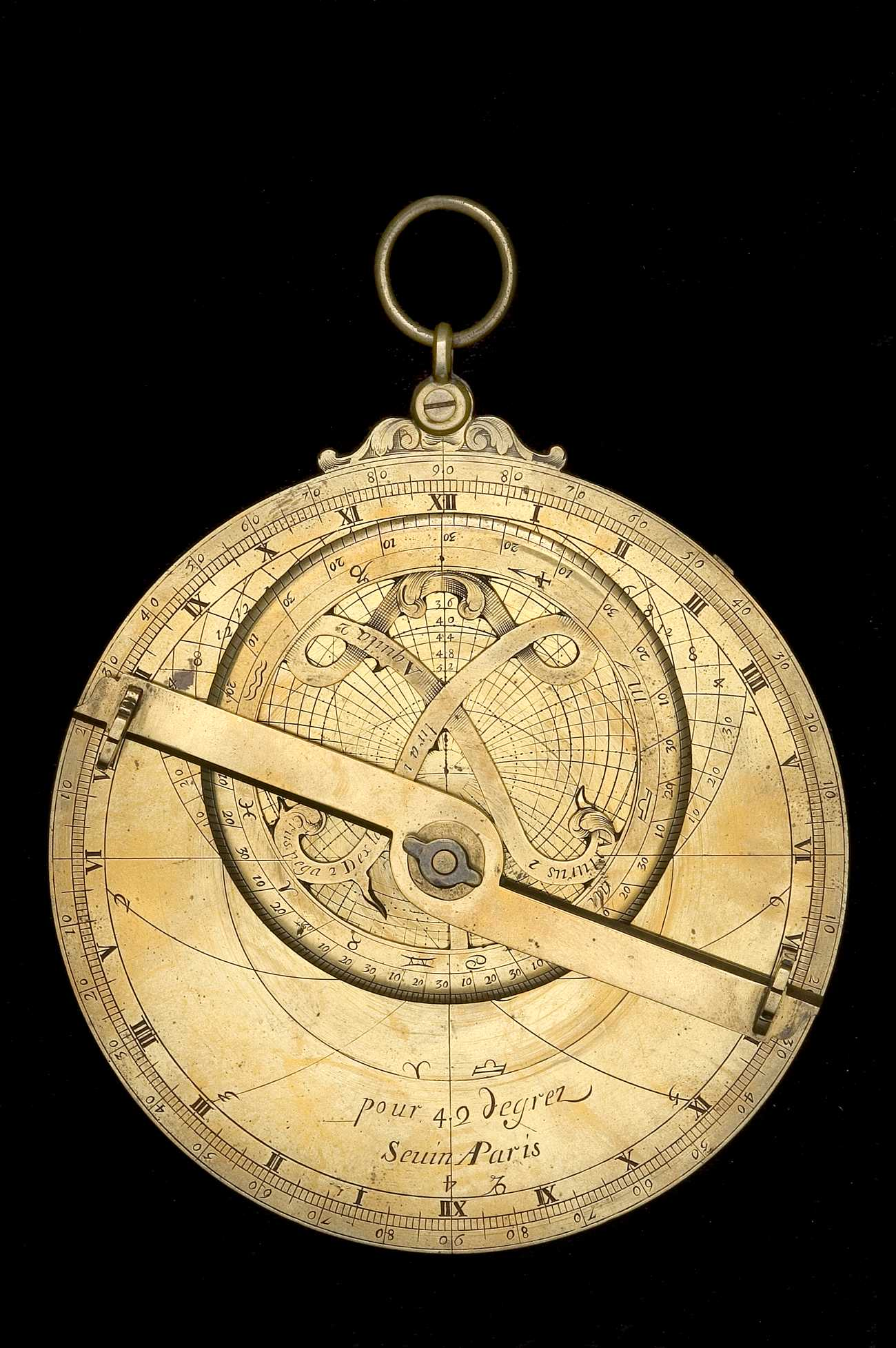 Astrolabe Image Report Inventory Number 52473: Astrolabe Report (inventory Number 42680