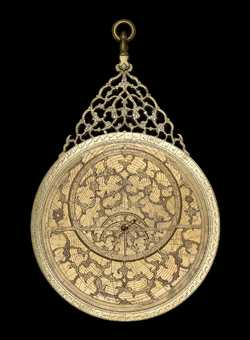 astrolabe, inventory number 42730 from Lahore, 1634/5 (A.H. 1044)