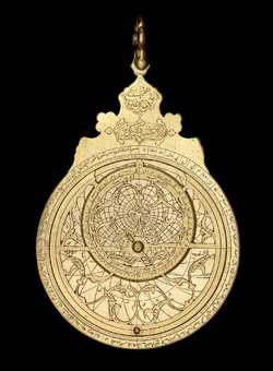 astrolabe, inventory number 43148 from Persia, 1641 (A.H. 1051)
