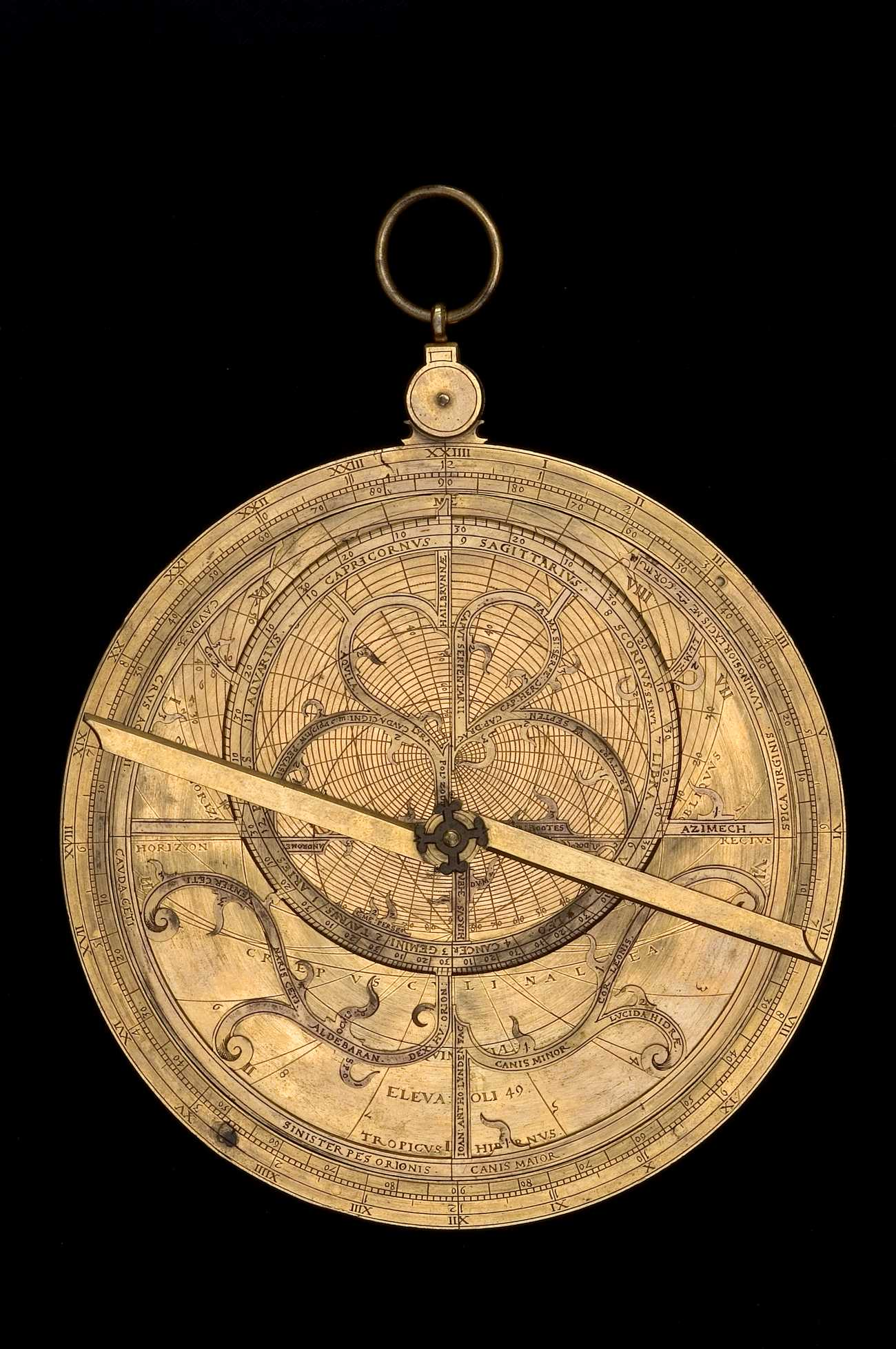 Astrolabe Image Report Inventory Number 52473: Astrolabe Report (inventory Number 43415
