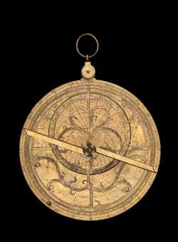 astrolabe, inventory number 43415 from Heilbronn, ca. 1580