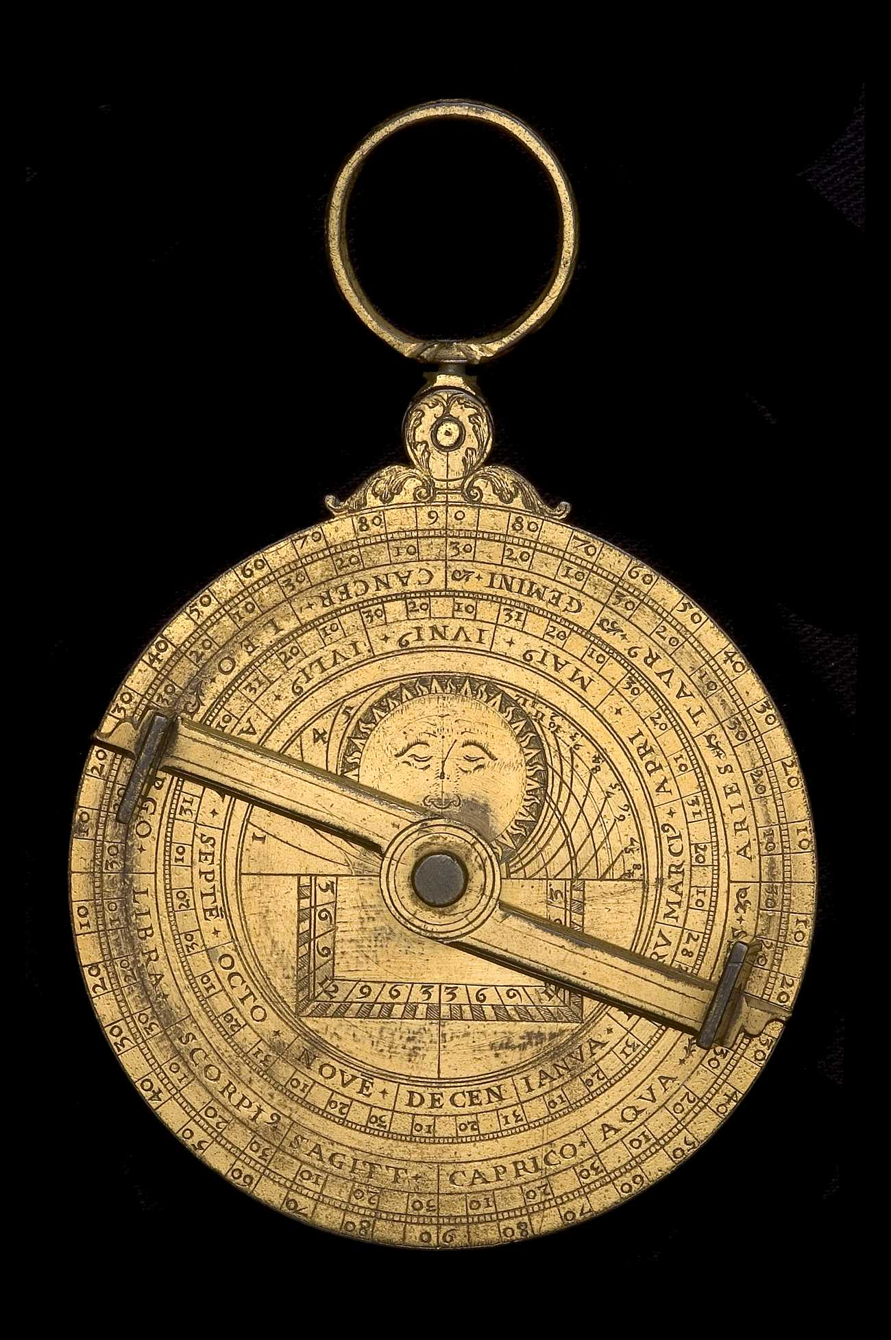 Astrolabe Image Report Inventory Number 52473: Astrolabe Report (inventory Number 43454