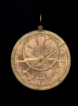 astrolabe, inventory number 43504 from Spain (?), ca. 1260