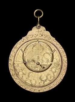 astrolabe, inventory number 43559 from Turkey, 1678 (A.H. 1089)