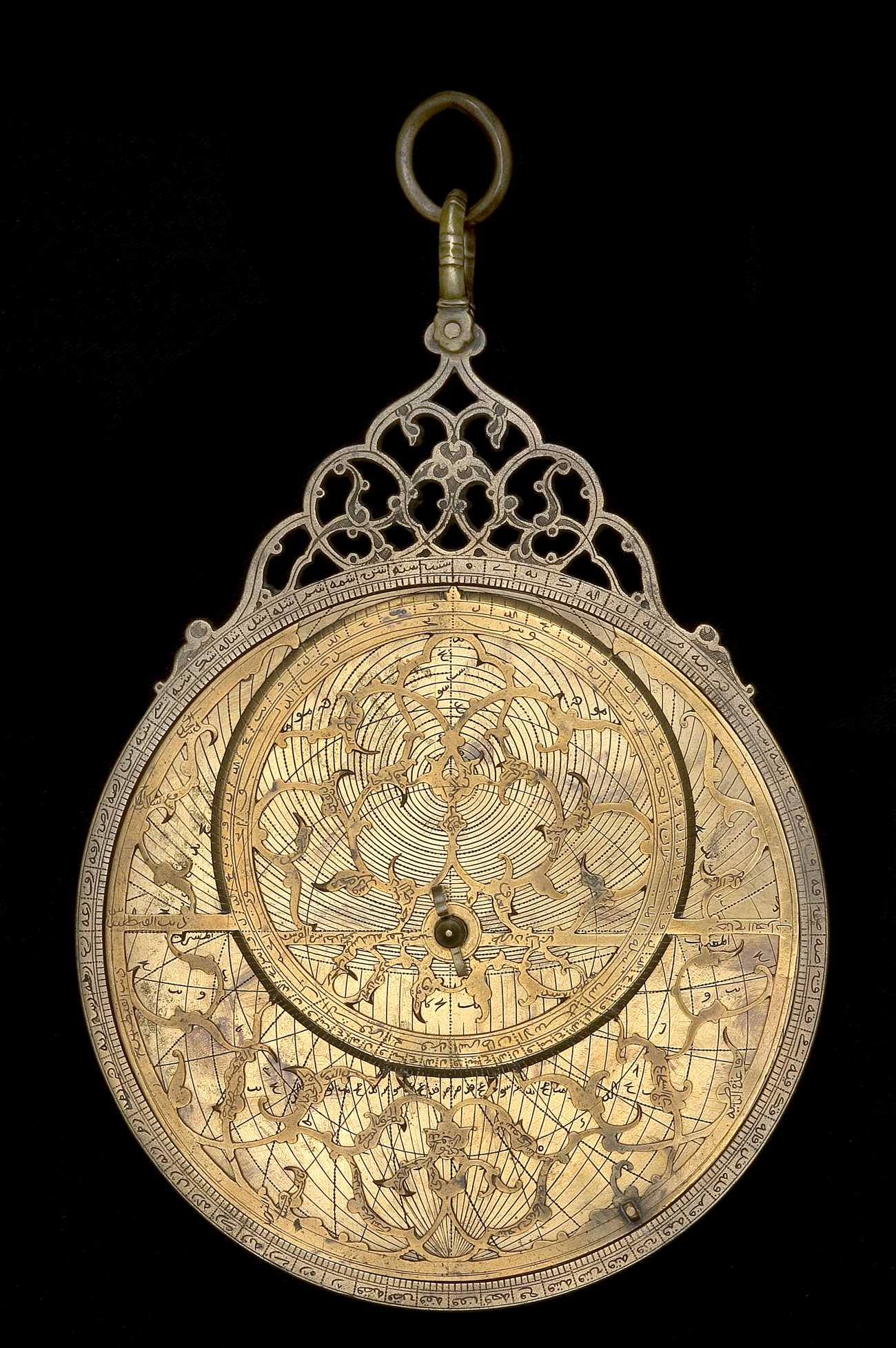Astrolabe Image Report Inventory Number 52473: Astrolabe Report (inventory Number 43704