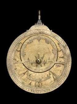 astrolabe, inventory number 44141 from Seville, 1221/2