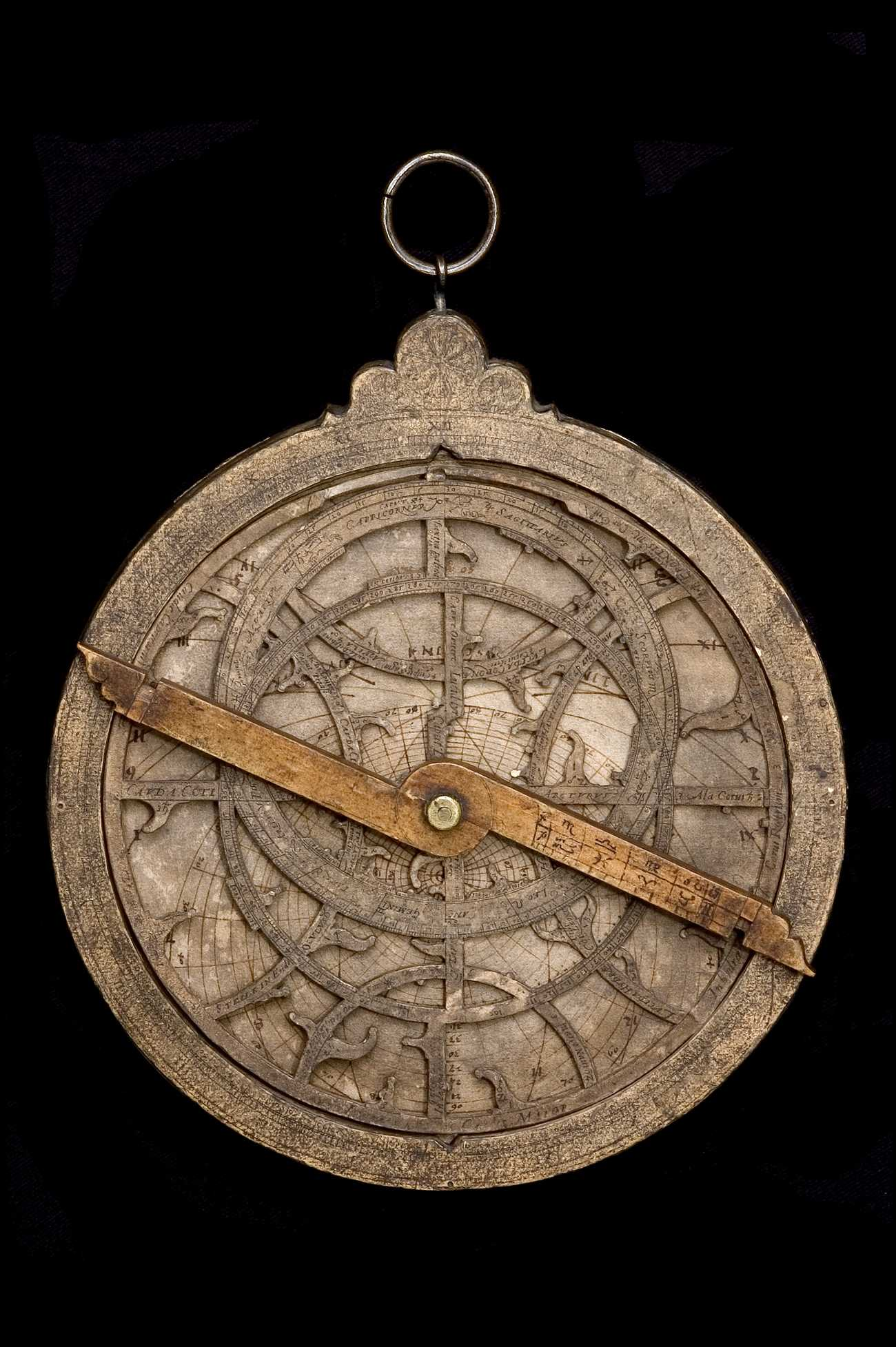 Astrolabe Image Report Inventory Number 52473: Astrolabe Report (inventory Number 44745