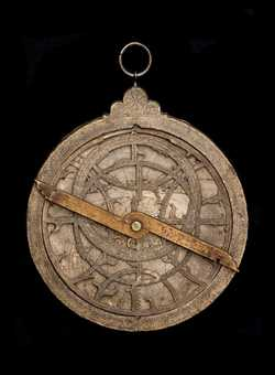 astrolabe, inventory number 44745 from Germany, 1609