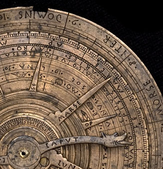 astrolabe, inventory number 45127 from Italy, late 15th century