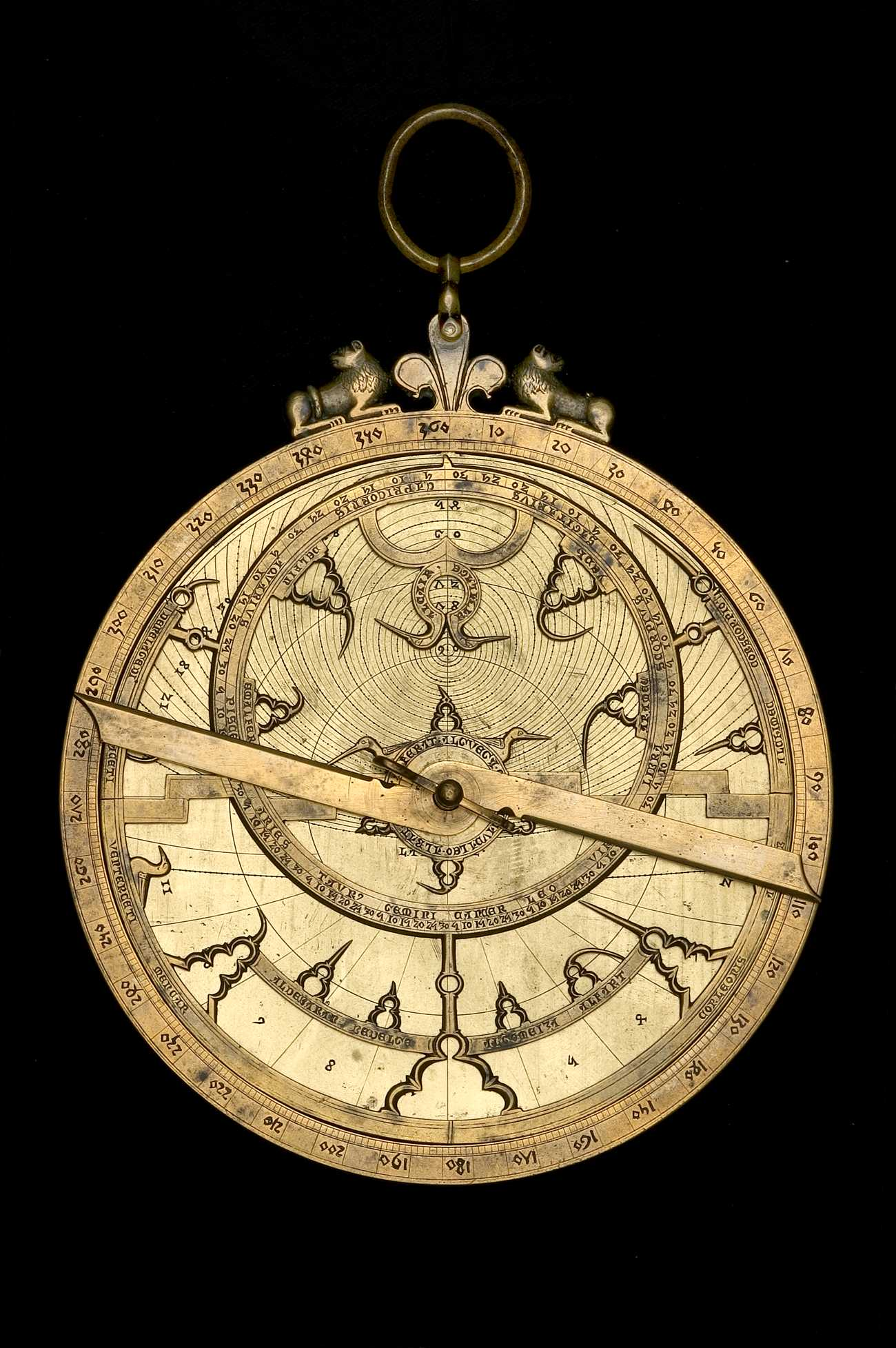 Astrolabe Image Report Inventory Number 52473: Islamic Art & Science: The Al-Khujandi Astrolabe And Some