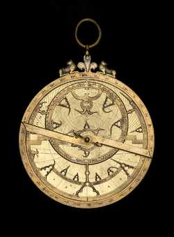 astrolabe, inventory number 45307 from Spain (?), ca. 1300