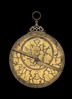 astrolabe, inventory number 45365 from Flanders, late 16th century